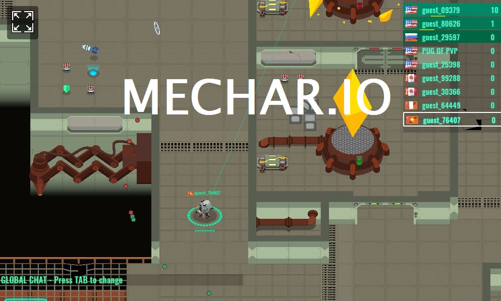 Mechar.io Game