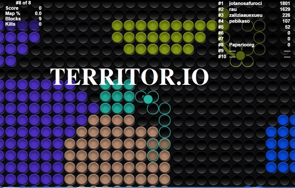 Territor.io Game