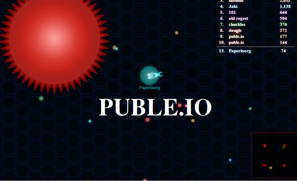 Puble.io Game