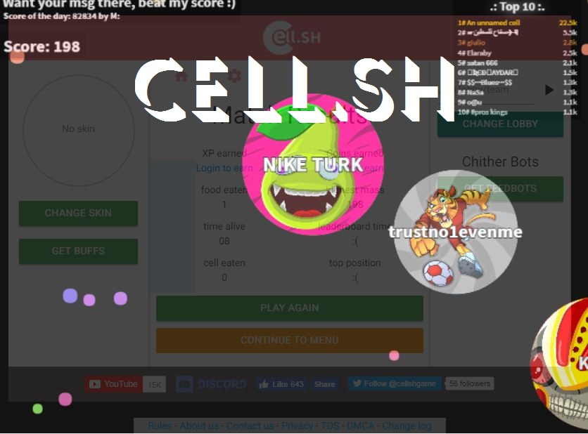 Cell.sh Game
