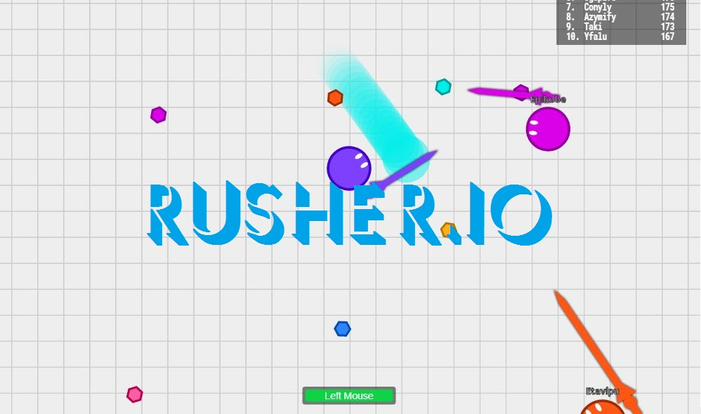 Rusher.io Game