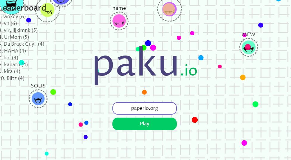 Paku.io Game