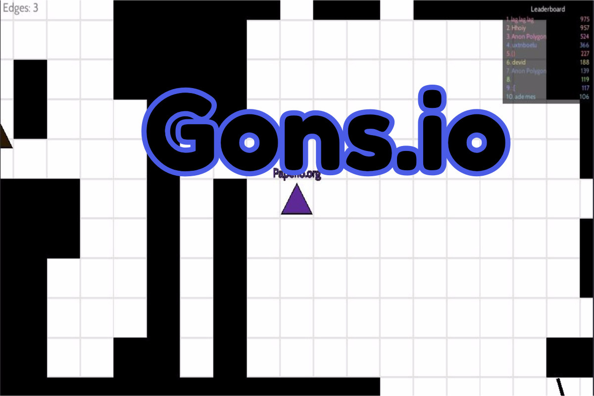 Gons.io Game
