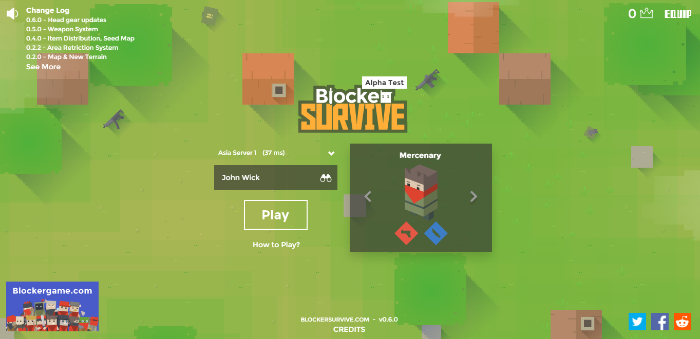 BlockerSurvive.com Game