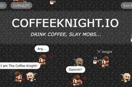 CoffeeKnight.io Game