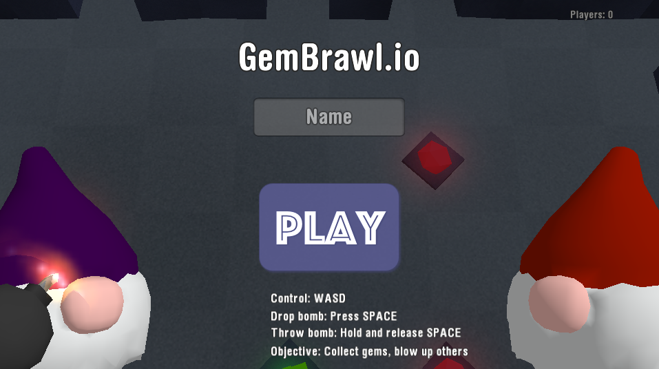 GemBrawl.io Game