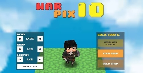 Warpix.io Game