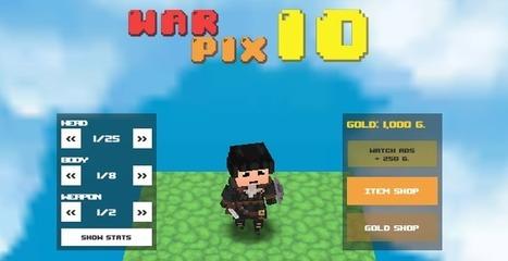 Warpix.io Game
