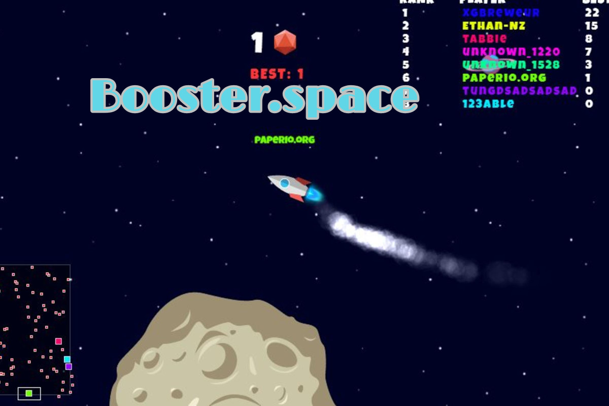 Booster.space Game