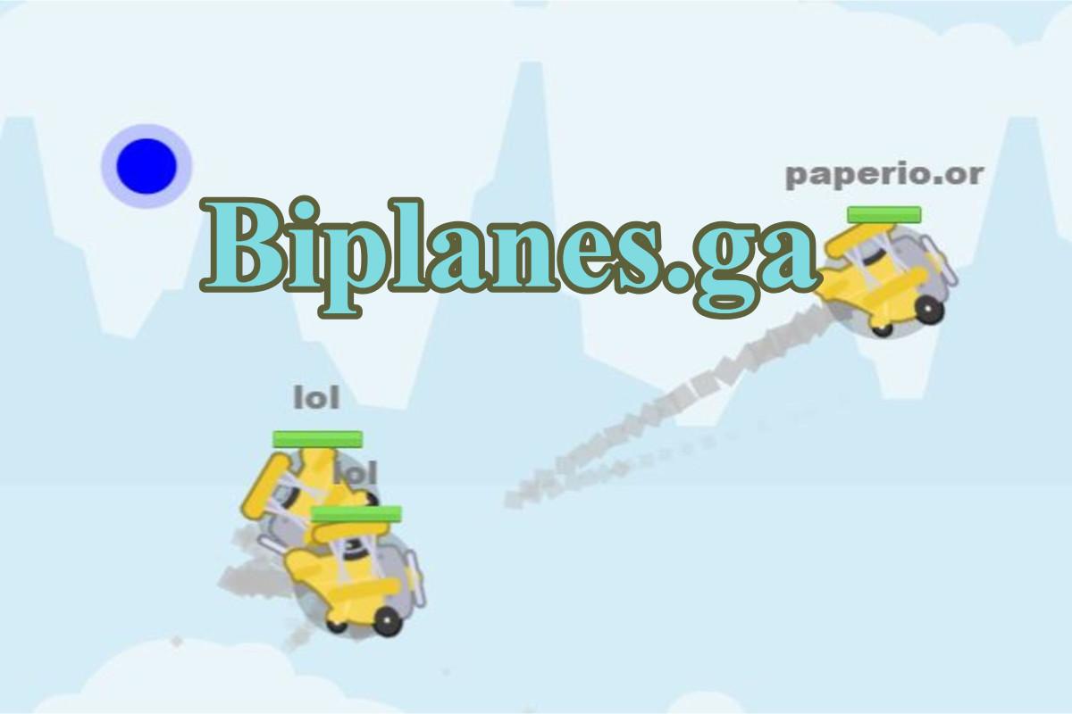 Biplanes.io Game
