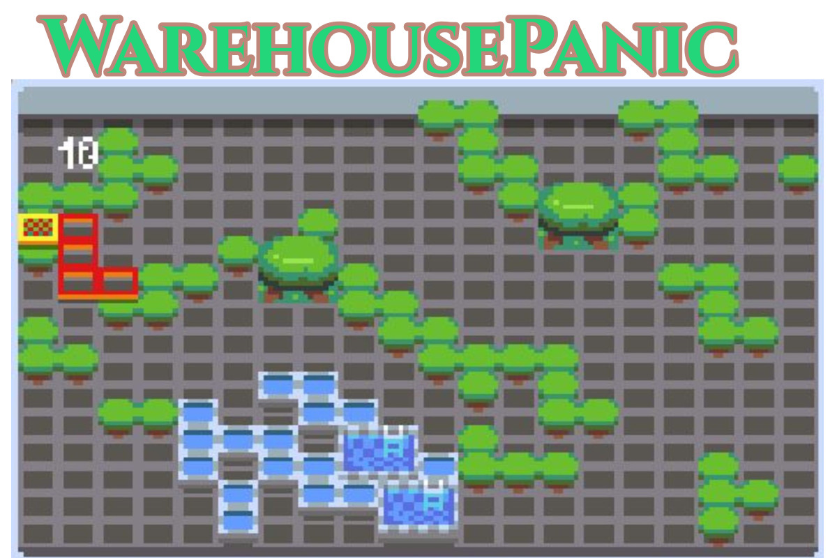 WarehousePanic.io Game
