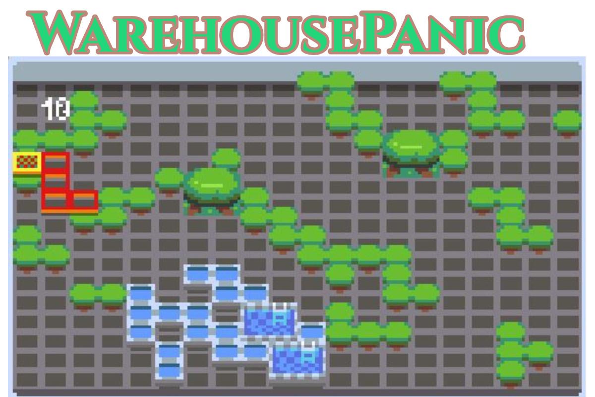 WarehousePanic.io Game