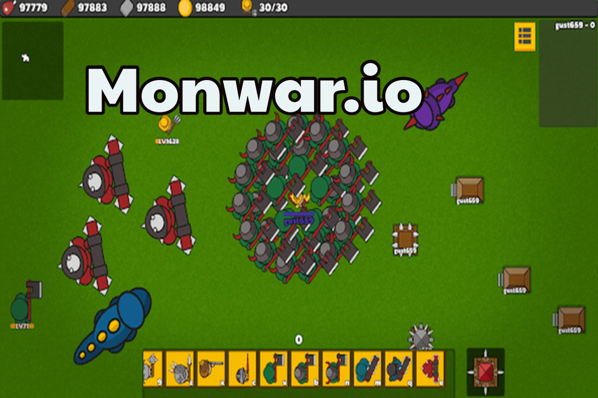 Monwar.io Game