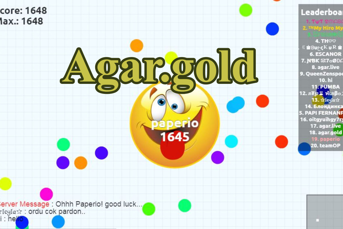 Agar.gold Game