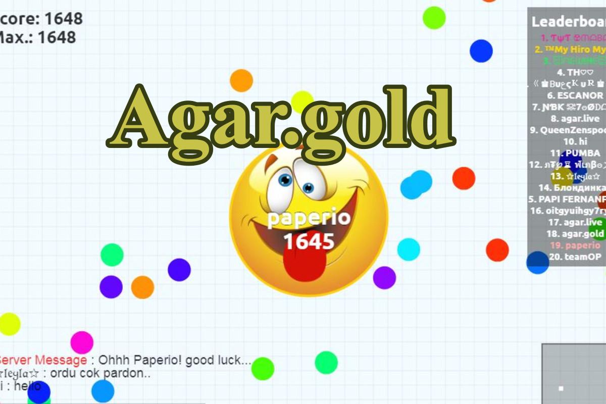 Agar.gold Game