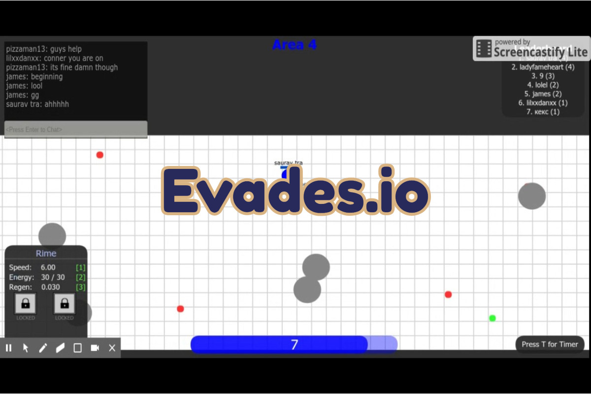 Evades.io Game