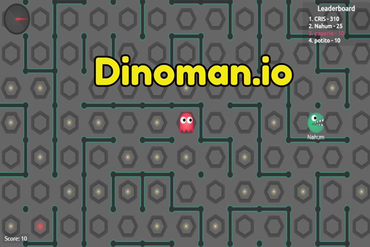 Dinoman.io Game