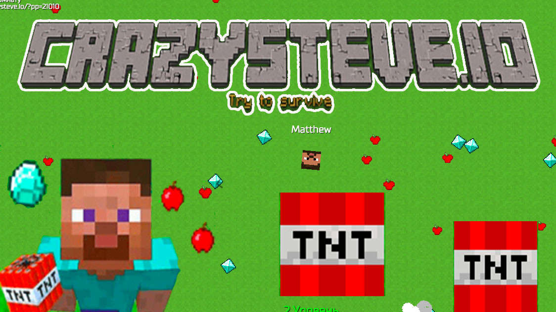 Crazysteve.io Game
