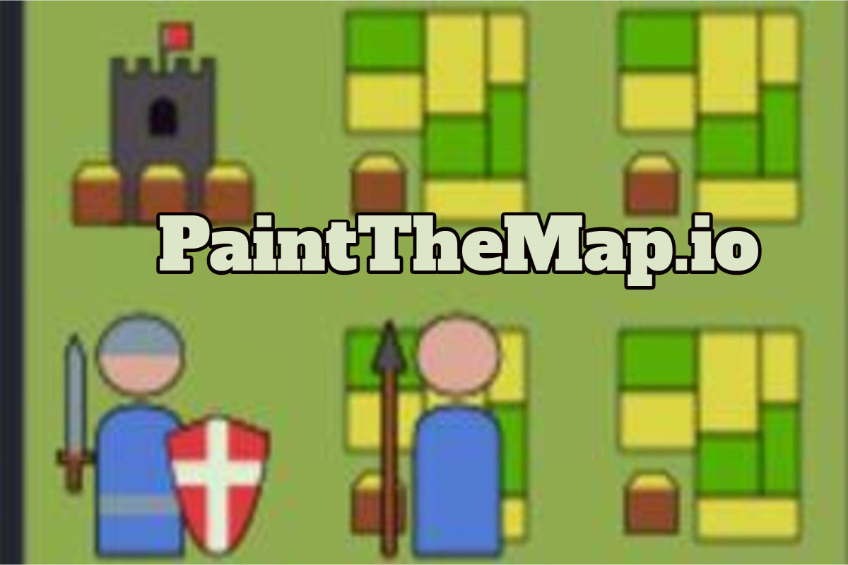 PaintTheMap.io Game