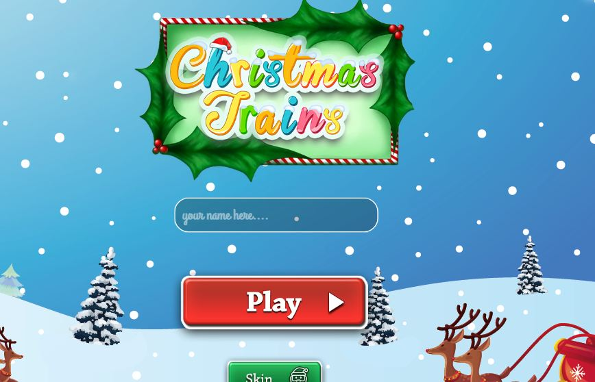 ChristmasTrains.io Game