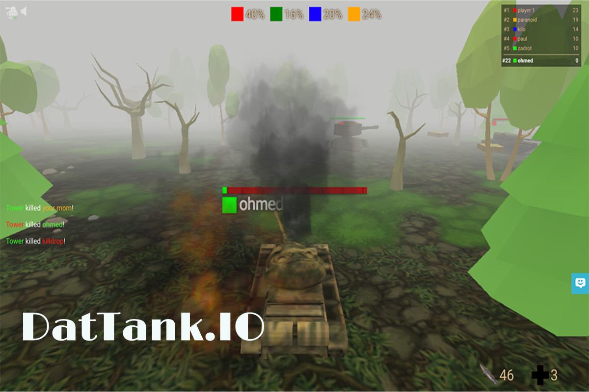 DatTank.IO Game