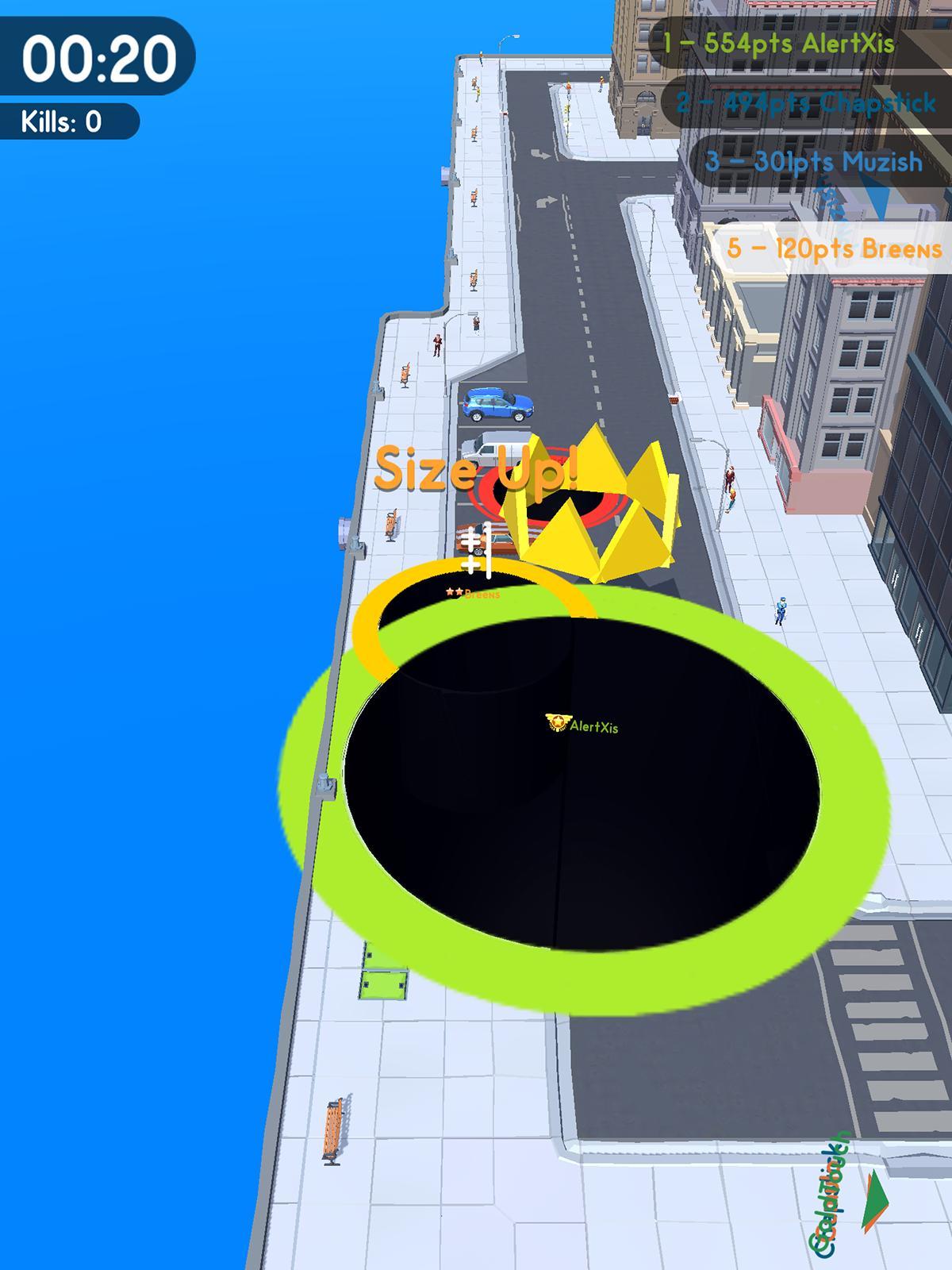 Hole io game